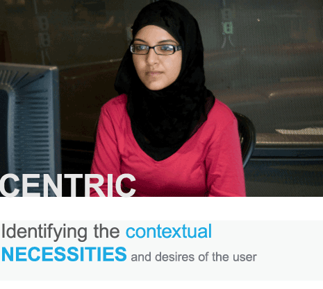 Identifying the contextual desires and necessities of the user