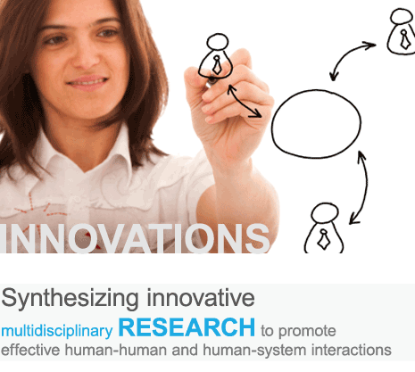 Synthesizing innovative multidisciplinary research to promote effective human-human and human-system interactions